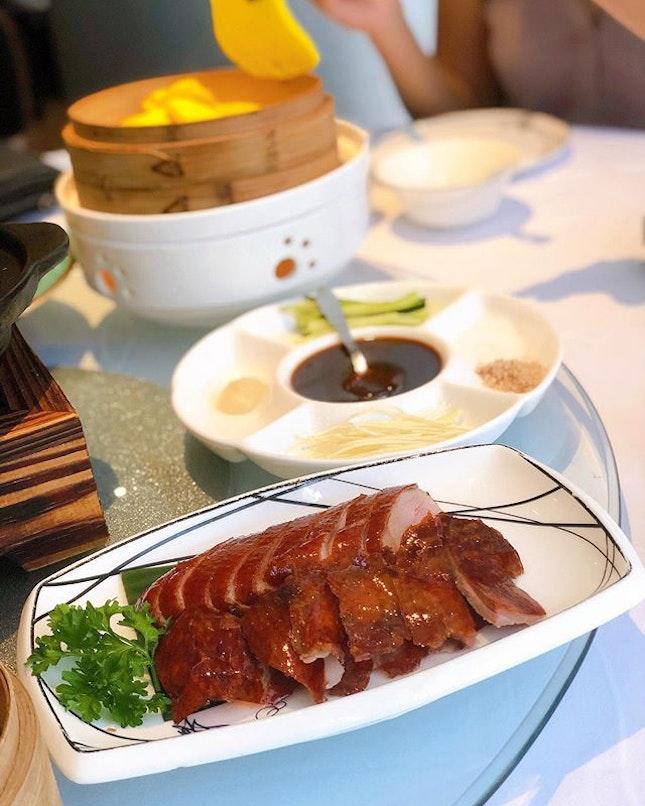 Short review: A very good roast duck but not a very good Peking duck.
