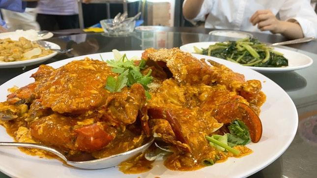 Cheap And Good Chilli Crabs! (2 For $28 nett)