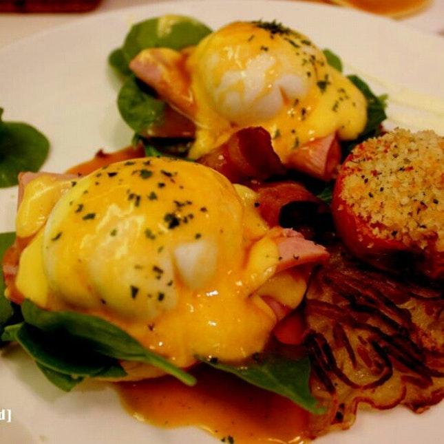 Eggs Benedict!