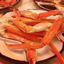 Alaskan crab buffet for dinner ---> MY FAVORITE 👍🍴🍗🍹🍛🍤🍕🍣🍥🍧🍰🍩🍳🍮 #dinner #alaskancrabs #sakurabuffet #blessings