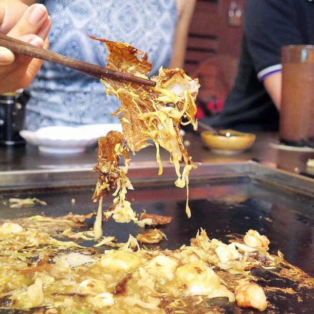 Mix Monja with Cheese [$15+$3]