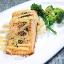 Norwegian Salmon with Miso Mayo Sauce [$16]