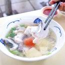 Fish Soup [$4]