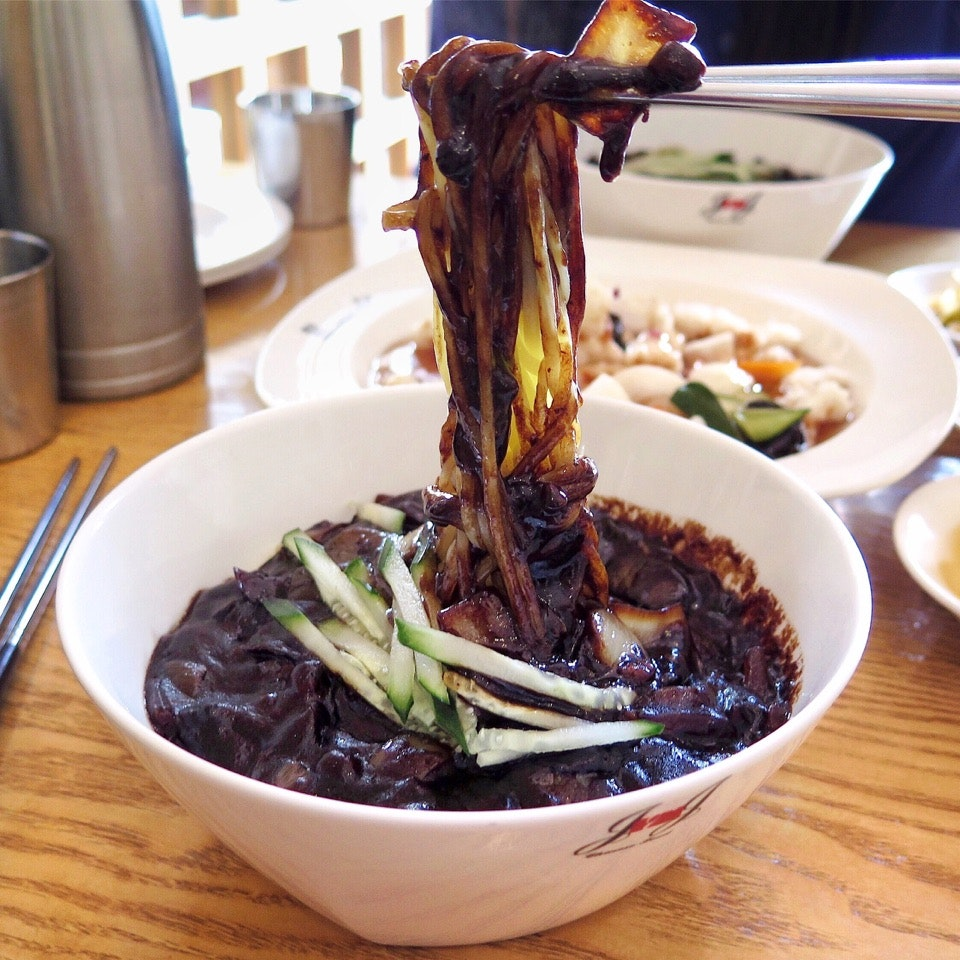 Jajangmyeon/Black Soybean Sauce Noodle [$10 for Lunch]