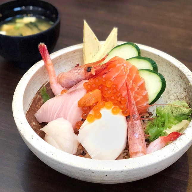 Jin Chirashi [$35, $17.50 with Eatigo]