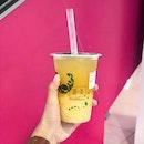 Lemon Green Tea with Coconut Jelly [$3.30 + $0.60]