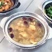Claypot Chicken Herbal Soup [$5.80/$8.30]