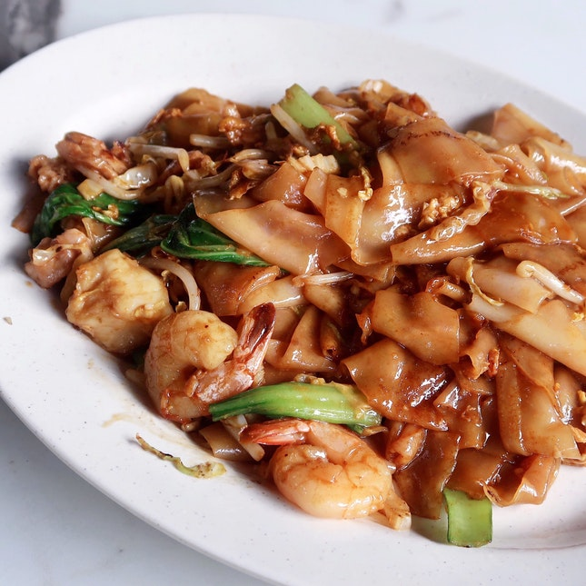 Stir-Fried Dried Hor Fun 干炒河粉 [$5 for Small]