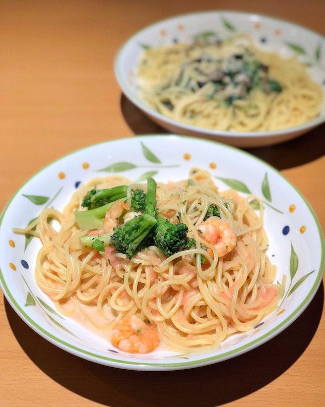 Mentaiko Flavor Shrimp & Broccoli [$6.90]