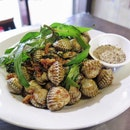 Sò Huyết Xào Tỏi: Cockles Stir Fried with Garlic [$7.50]