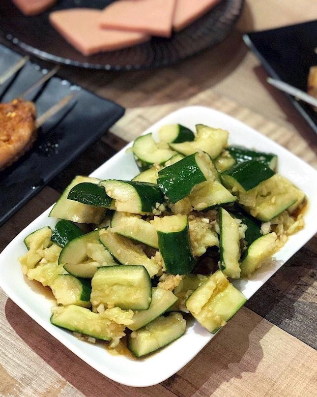 Cucumber Salad 凉拌黄瓜 [$4.80]