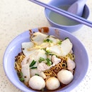 Fishball Noodle Dry [$3]