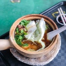 Claypot Herbal Sliced Meat & Liver Meesua [$5]
