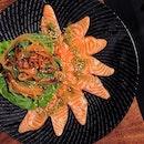 Spicy Salmon Carpaccio [$12]