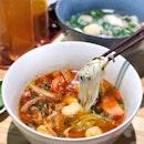 Sup Hai San Cay - Spicy Seafood Vermicelli 辣海鲜米粉汤 [$9.90]