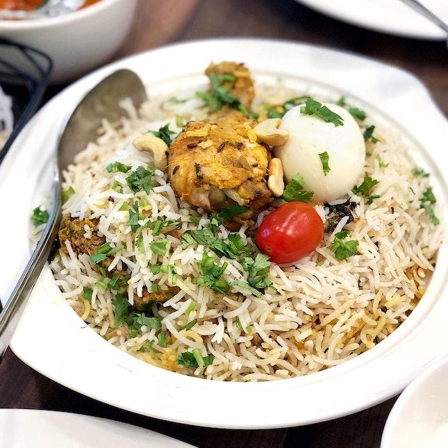 Hyderabad Chicken Dhum Biryani [$10]