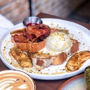 Bananas Foster French Toast [$16]