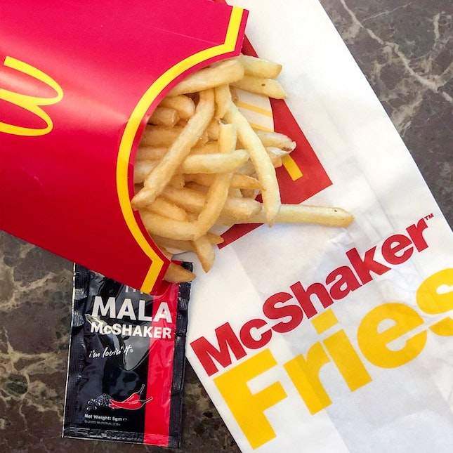 Mala McShaker Fries [$3.50 Ala Carte]