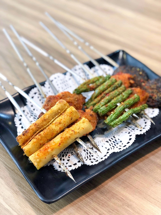 烧烤 Skewers [Price Varies]