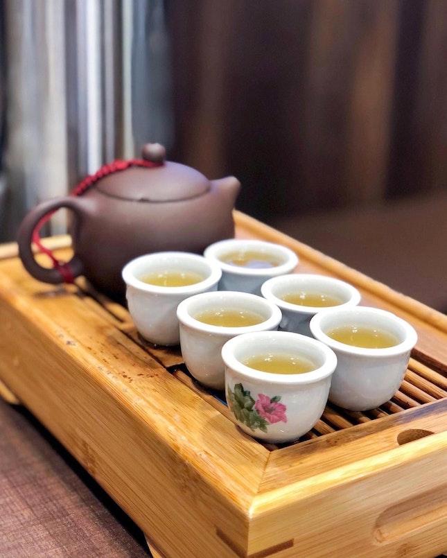 Kung Fu Tea - King's Garden Tea 皇之园 [$5/Pot]