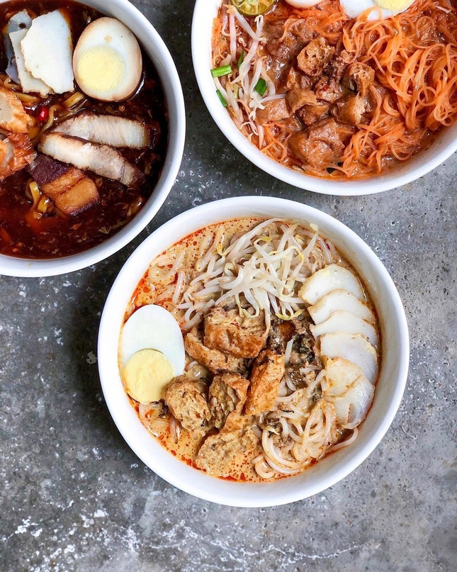 Laksa [$3 for Small, $3.50 for Big]