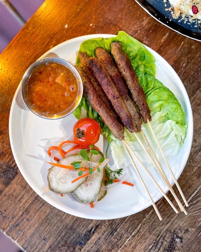 Impossible Meat Kebabs [$15]
