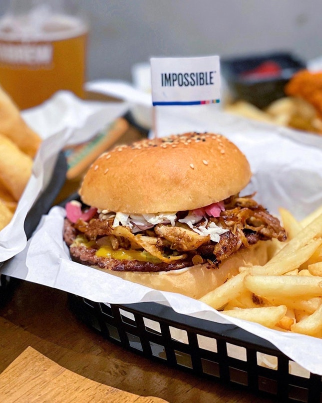 Sid Burger [$15 for Single + $3 for Impossible Patty]