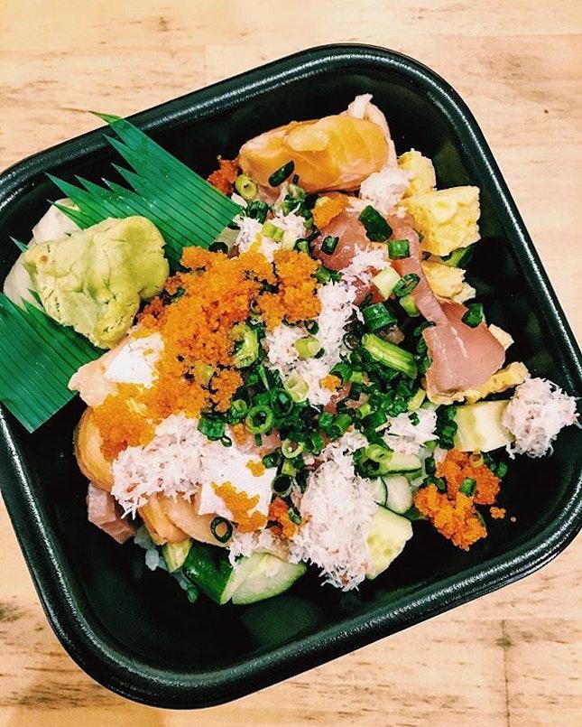 バラちらし; Bara Chirashi 【¥540】 。  Stumbled upon our newfound favorite lunch spot today and we just had to share it with you!