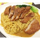 "No kidding that the name of this dish on the menu is ""Fermented Pork Chop Dry Curry Ramen"" which may put you off if you don't really know what it is but it is really amazing!"