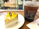 Quiet contemplations over Pablo's cheese tart and some Pablo's Signature Coffee.