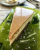 Bailey's Cheesecake - intoxicatingly creamy treat.