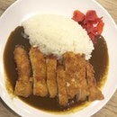 Some Katsu Curry Don at the basement of Shaw House (situated in the Japan Food Garden).