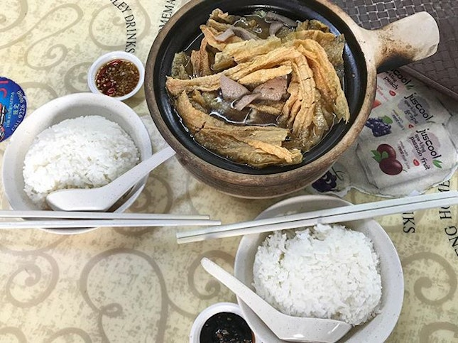 Finally found delicious Herbal Bak Kut Teh near me 😁 You can even choose to add on extra ingredients to your delicious soup and they top up the soup for free!
