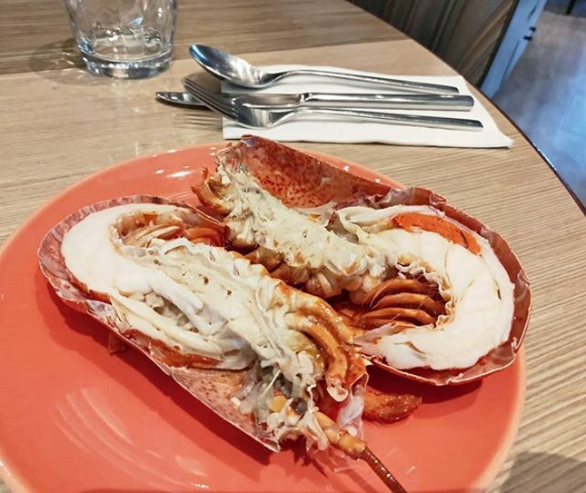 Haven't had lobsters in a while.