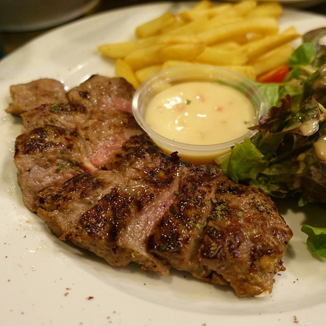 Grilled Meltique Beef ($26.90) - one of the better dishes here.