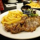 SG50 $50 nett set meal Main Course : USA Prime Grade Ribeye steak  #dinner #steak #halal #instagood #foodlover #vscofood #onthetable #whati8today #food #foodie #fotd #foodgram #foodporn #foodpornography #getinmybelly #sgfood #sgigfoodies #singaporefood #foodforfoodies #foodstagram #lifeisdeliciousinsingapore #happytummy #foodphotography #foodpics #icapturefood #foodstamping #openricesg #burpple