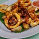 Spicy Sambal Sotong.....