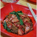 Dumplings with qq noodles and extra char siew !