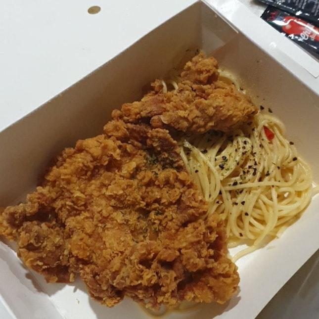 Aglio Olio Fried Chicken