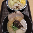 Our first meal after touching down in Singapore was at the newly opened ramen champion @ T3!