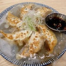 One of the side dishes we tried at afuri, as recommended by the staff, was this wing gyoza ($6.90++) which has WINGS.