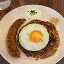 Rosti With Chicken Sausage!