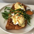 Star Dish Is The Puller Pork Benedict!