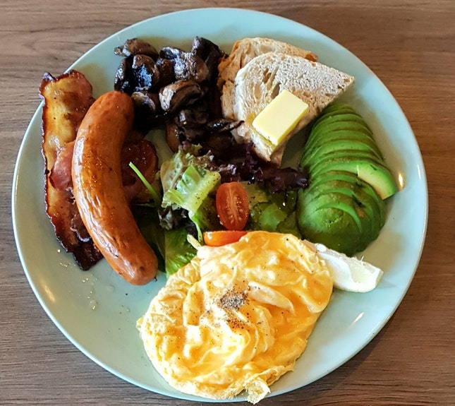 Big Breakfast With Avocado