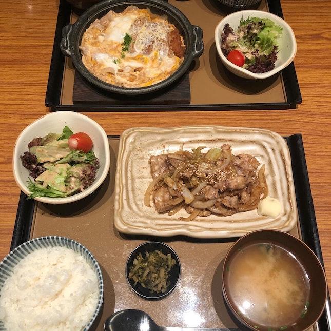 Shogayaki Teishoku!!