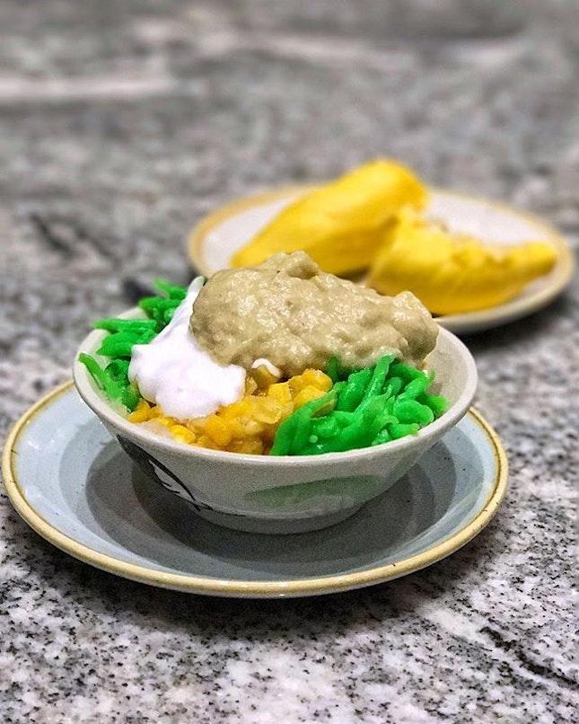 Durian Chendol prepared by @mightyfoodie.