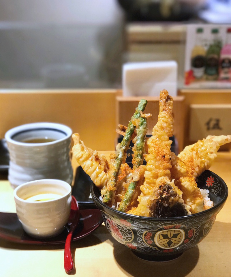 Ginza Tendon Itsuki 天丼専門 銀座いつき