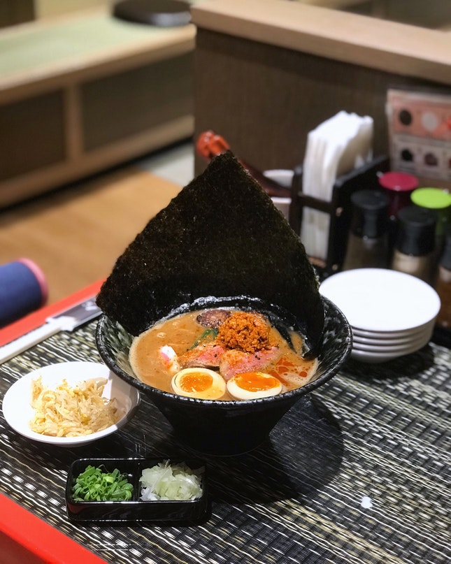 Spicy Miso Hybrid Duck Broth Ramen