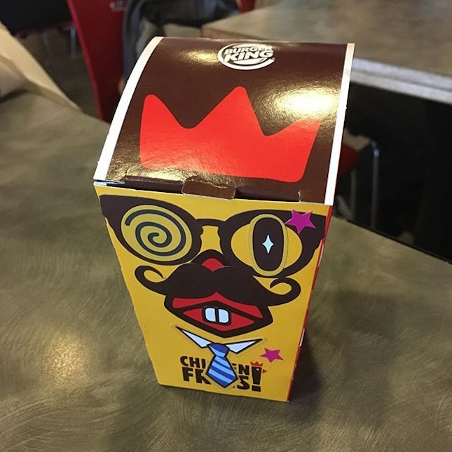 Dressing up the chicken fries.
