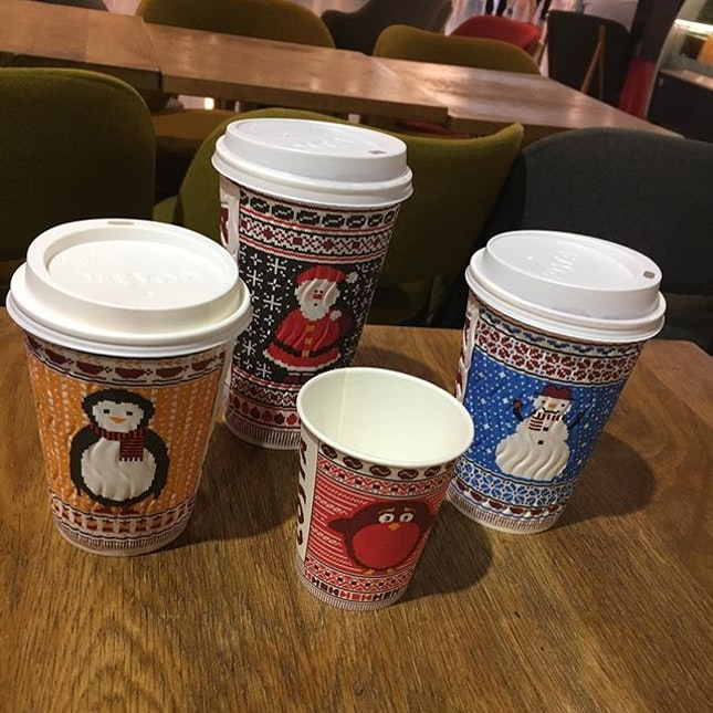 Christmas drinks by Costa!